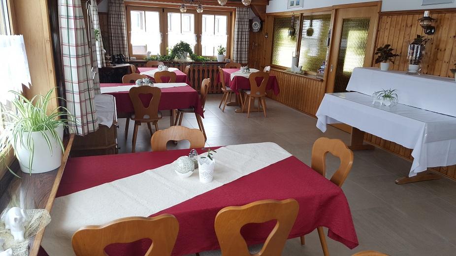 Gasthaus Bierhäusle Frühstücksraum